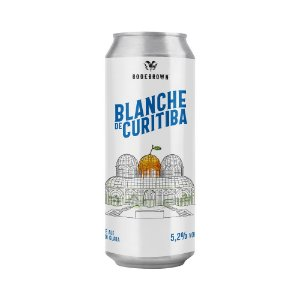 Cerveja Bodebrown Blanche de Curitiba Belgian White 473ml
