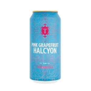 Cerveja Thornbridge Pink Grapefruit Halcyon Imperial IPA 440ml