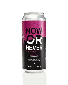 Cerveja Koala Now Or Never Graprefruit Double IPA 473ML