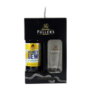 Kit Cerveja e Copo Fuller's Honey Dew Golden Ale 500ml