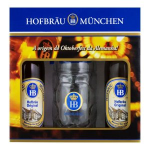 Kit Hofbräu Original 2 Cervejas + 1 Caneca 500ml