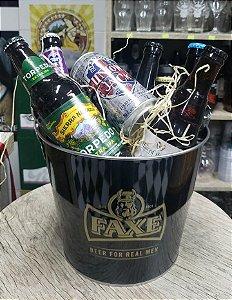 Kit Presente Com 10 Cervejas Personalizado no Balde