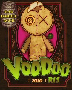 Cerveja Hespanha Dash RIS VooDoo Barrel Oak Aged 473ml
