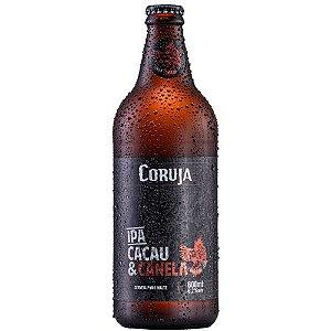 Cerveja Coruja IPA Cacau e Canela 500ML