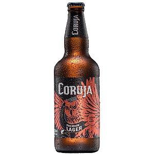 Cerveja Coruja Lager Garrafa 600ml