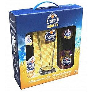 Kit de Cerveja Schneider Tap 7 e Tap 6 + 1 Copo 500ml
