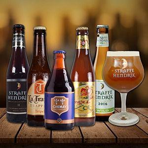 Kit de Cervejas Especiais Bélgica e Holanda - Brinde taça exclusiva - Limitado