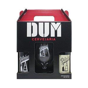 Kit de Cervejas DUM Petroleum com taça
