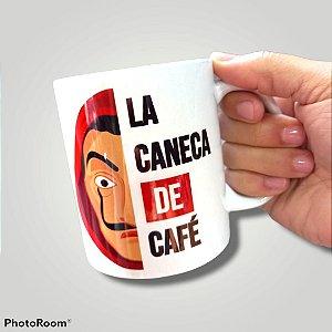CANECA DE CERÂMICA LA CANECA DE CAFÉ