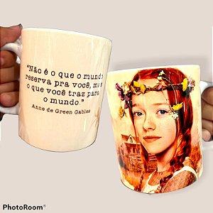 CANECA DE CERÂMICA ANNE WITH AN E