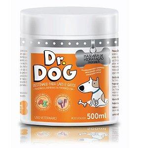 Máscara de hidratação profunda para cães e gatos DR DOG com óleo de coco