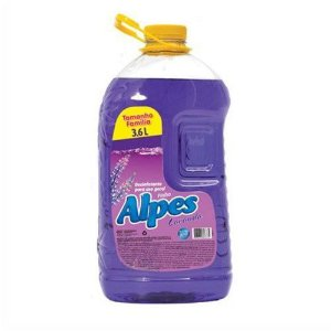 Desinfetante Alpes Pinho 3,6L, Versão Lavanda