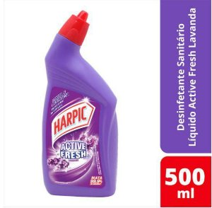 Harpic líquido Active Fresh lavanda 500ml