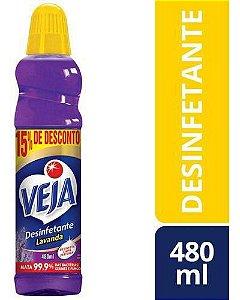Veja Desinfetante Lavanda 480ml com 15% OFF