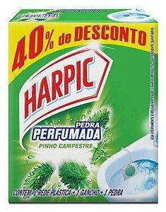 Harpic Pedra Sanitária Pinho Campestre 25gr Embalagem Promocional