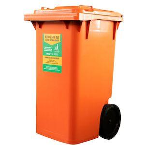 Coletor para óleo de fritura em condomínios - Capacidade 240 L