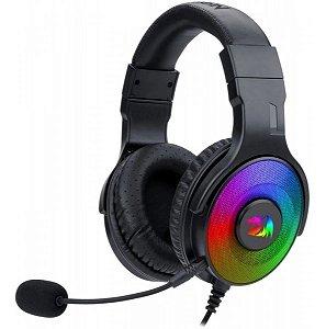 Headset Fone Gamer Redragon Pandora 2 Rgb 7.1 Surround (H350)
