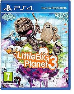 PS4 - Little Big Planet 3 - Seminovo