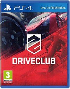 PS4 - Driveclub - Seminovo