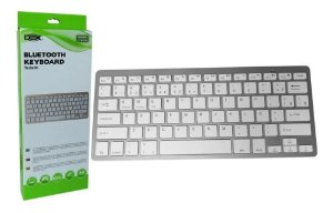 Mini Teclado Bluetooth Tablet Notebook Smart TV e Celular (LTK-710)