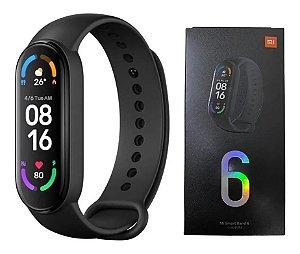 Relógio Smartwatch Mi Band 6 Xiaomi - Black - Original