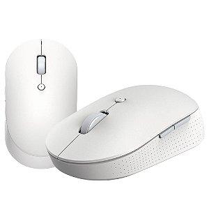 Mouse s/ Fio Bluetooth Xiaomi Mi Dual Mode Wireless Silent Edition - Branco