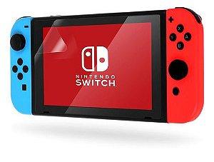 Película De Plástico Para Nintendo Switch (Com Aplicação)