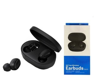 Fone de Ouvido Bluetooth Earbuds Basic True 5.0 Android IOS (E6S)