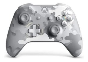 Controle Joystick s/ fio Microsoft Xbox One Arctic Camo Special Edition