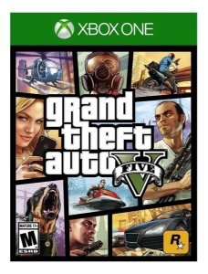 Xbox One - GTA V - Seminovo