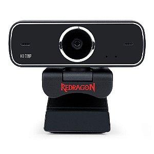 Webcam Redragon Gw600 Streaming Fobos Hd 720p Rotação 360°