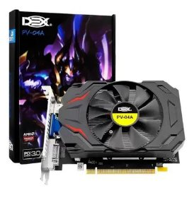 Placa de Video AMD R7 200 Series 128bit DDR5 2Gb 780MHz (PV-04A)