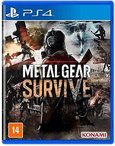 PS4 - Metal Gear Survive - Seminovo