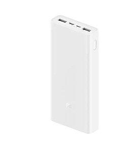 Carregador de Bateria Xiaomi VXN4258CN 20000MAH Power Bank MI 3
