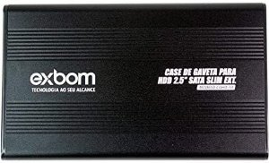 Case de Gaveta p/ HD 2.5 Sata USB 2.0 (CGHD)-10