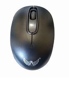 Mouse Optico s/ Fio Wireless Usb 1200Dpi (AG-808)
