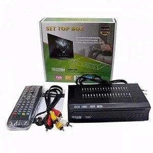 Conversor Digital Tv ISDB-T Set Top Box Gravador