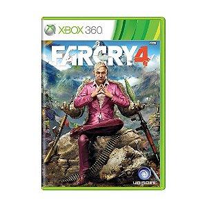 Xbox 360 - Far Cry 4 - Seminovo