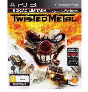 PS3 - Twisted Metal Seminovo