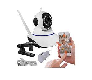 Camera IP Hd Wireless Wifi Dvr s/ Fio c/ 2 Antenas (JT-110BW2A)