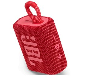 Caixa De Som Jbl Go3 Bluetooth 5.1 Vermelha Lancamento 2020