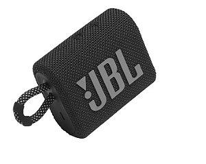 Caixa De Som Jbl Go3 Bluetooth 5.1 Preto