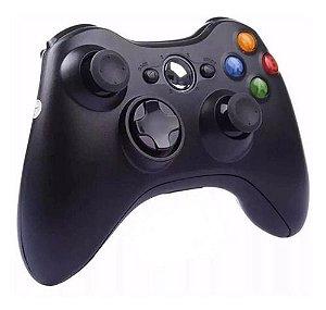 Controle Joystick Wireless Xbox 360 Sem Fio - Alto-360w