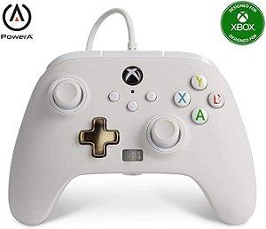 Controle Joystick C/Fio Xbox One PowerA Power A Enhanced Wired - MIST - Névoa
