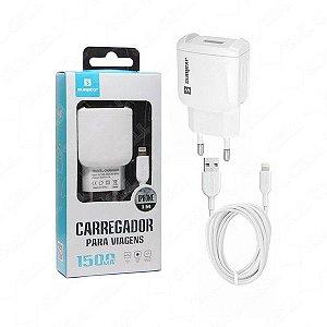 Carregador Fonte de Tomada Rapido Iphone 5v 3.1A Usb Duplo - (Re-Car-8026)