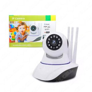 Camera Ip Hd Wireless Wifi s/ Fio c/ 3 Antenas (Al-5380)