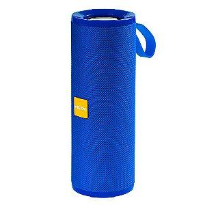 Caixa de Som Bluetooth Fm/Sd/Usb Mox Mo-S117 Azul