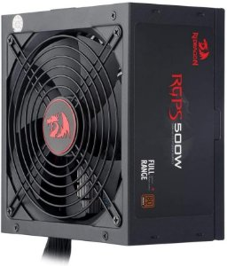 Pc - Fonte Atx Bivolt 500w Redragon 80 Plus Bronze - Gc-Ps001-1