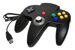 Controle Nintendo 64 N64 Usb Para Pc