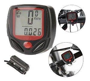 Velocimetro Odometro Cpu de Bordo p/ Bicicleta LuaTek Lk-005